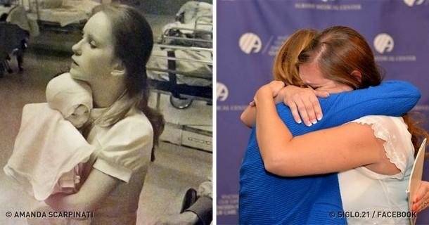 Пациентка нашла медсестру через 40 лет