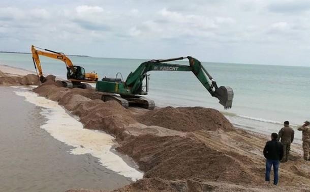 Доставка карьерного песка в СПб