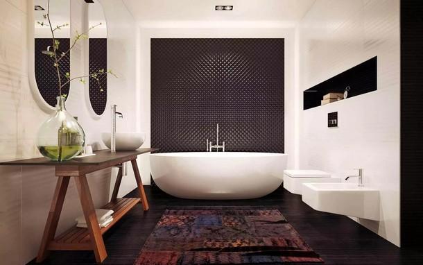 Новые тенденции в оформлении ванной комнаты