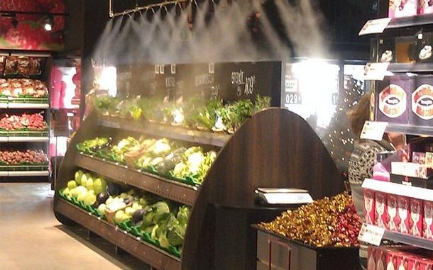 Sistemy tumana dlya pishheaoj produktsii - Системы тумана как способ создания микроклимата