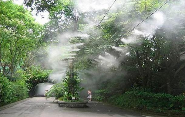 Системы тумана как способ создания микроклимата