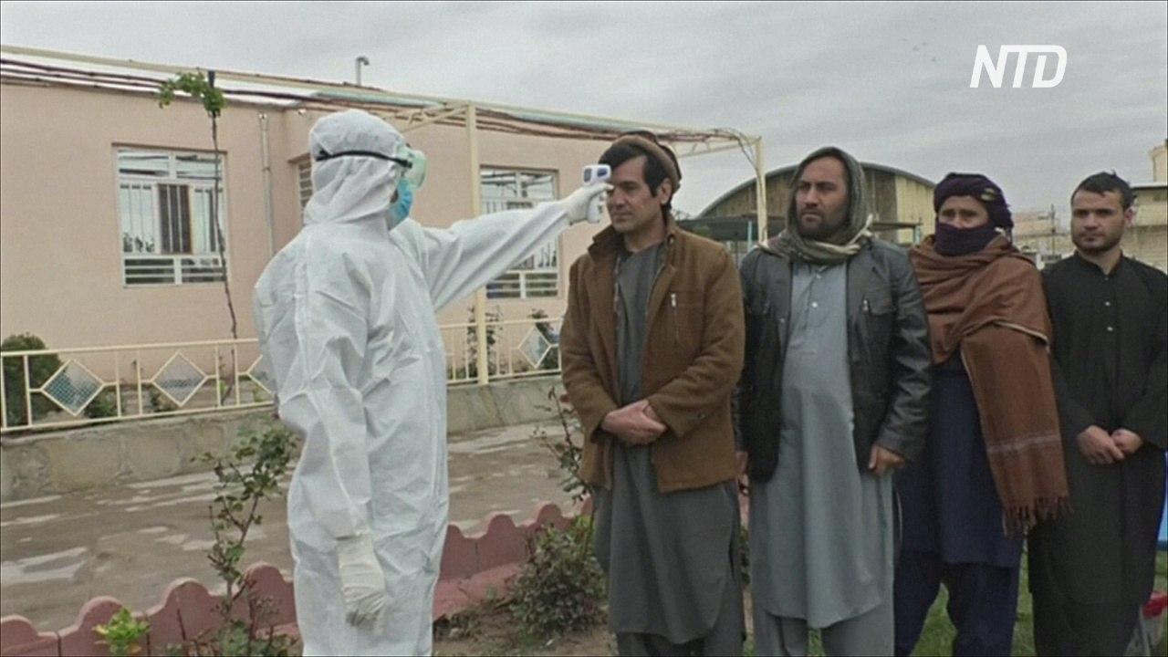 10 000 заключённых отпустят в Афганистане из-за распространения коронавируса