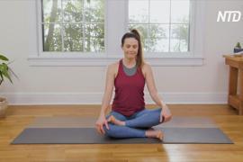 Йога во время карантина: занятия помогают справиться с депрессией