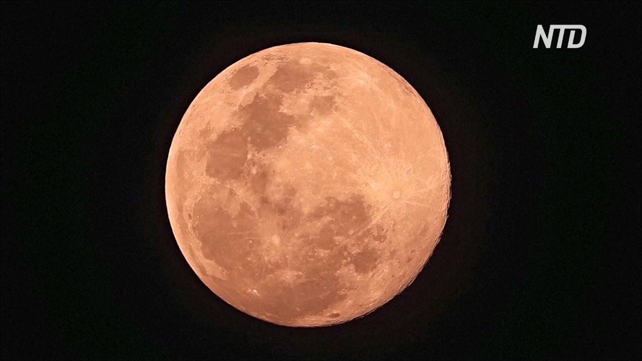 В ночь на 8 апреля наблюдали самую большую Луну 2020 года