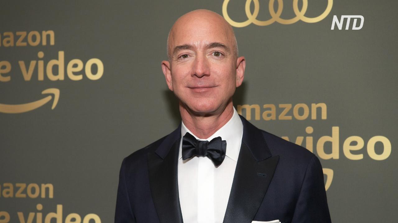 Джефф Безос третий год подряд возглавляет список миллиардеров мира