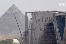 Несмотря на коронавирус, в Египте продолжают строить Большой музей