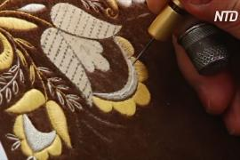 Торжокские мастерицы хранят вековые традиции золотного шитья
