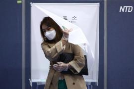 Парламентские выборы в Южной Корее прошли в условиях эпидемии
