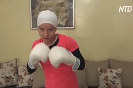 Тунисская боксёрша усердно тренируется дома, чтобы победить на Играх в Токио