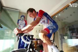 Велогонку «Тур Швейцарии» из-за эпидемии сделали виртуальной