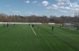 В Минске вопреки коронавирусу 250 болельщиков пришли на футбольный матч