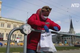 «Ты не один»: российским бездомным помогают выжить в условиях карантина