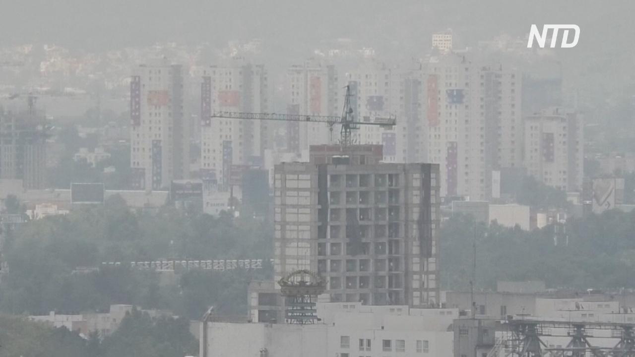 Горизонта не видно: воздух в Мехико не стал чище даже на карантине