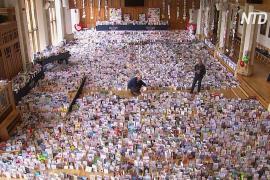 125 тысяч открыток: британского капитана Тома поздравляют со 100-летием