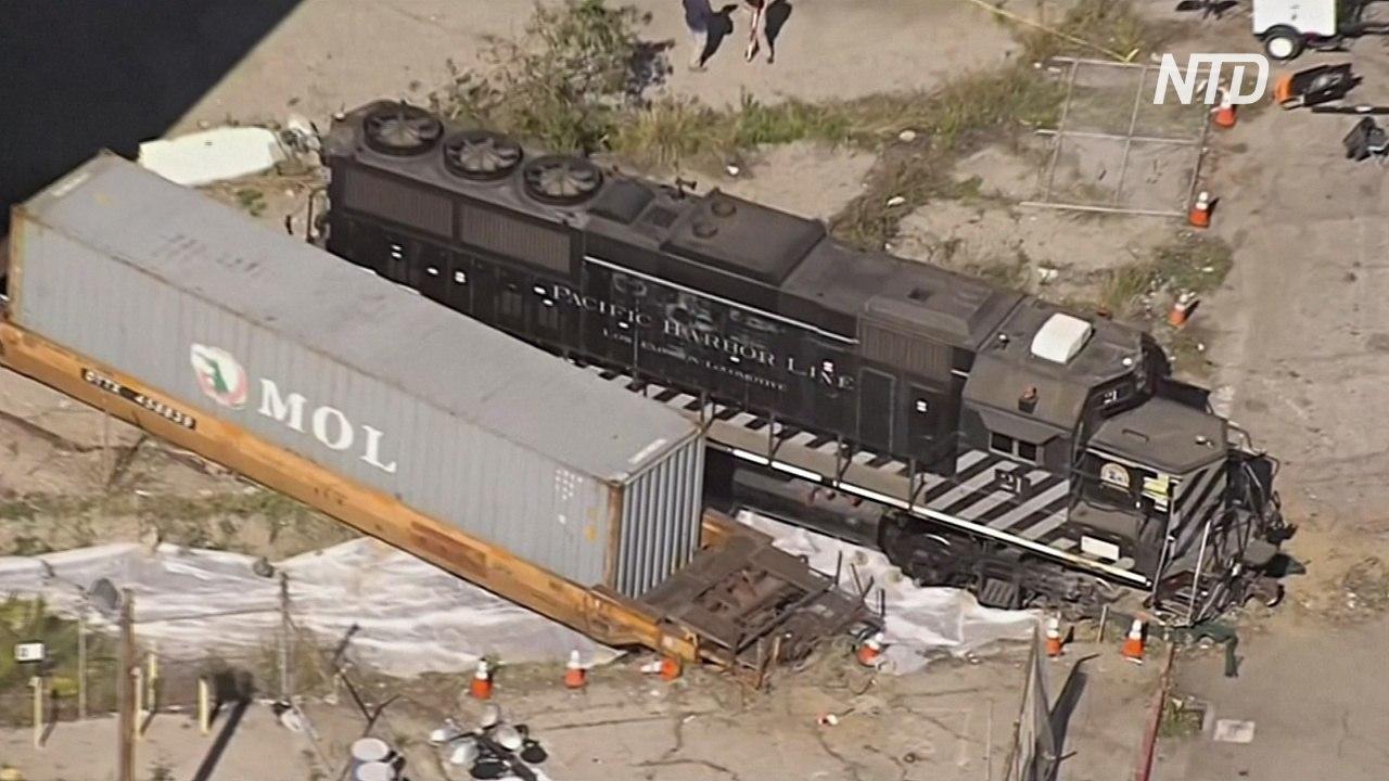 Американец попытался протаранить поездом плавучий госпиталь Mercy