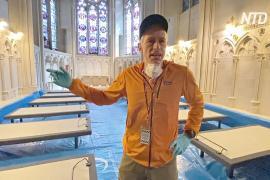 Собор Нью-Йорка переоборудуют в полевой госпиталь