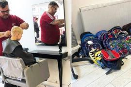 Шотландский парикмахер помогает детям обрести уверенность