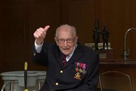 100-летнего британского ветерана Тома Мура посвятят в рыцари