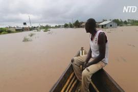 Сотни кенийцев бегут от наводнения