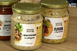Москвичам предлагают заказывать ресторанную еду в стеклянных банках
