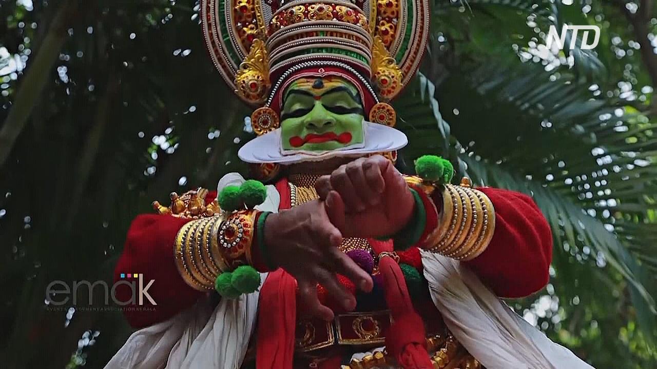Традиционные танцы Азии показывают важность мытья рук и дистанцирования