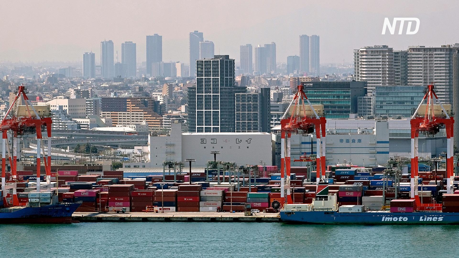 Япония впервые за 4,5 года погрузилась в рецессию