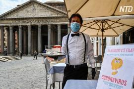 Италия ослабляет карантин, но Рим пока остаётся без туристов