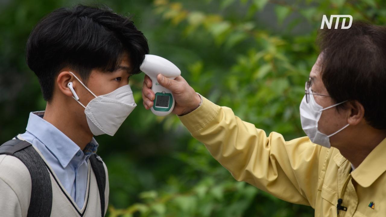 Южная Корея сообщает о 32 новых случаях коронавируса на фоне открытия школ