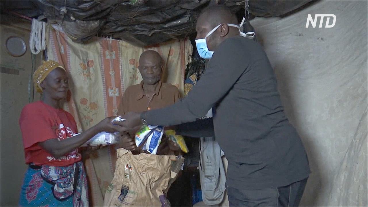 «Прими семью»: богатые кенийцы во время карантина помогают бедным
