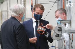 Макрон хочет сделать Францию лидером Европы по производству «зелёных» авто