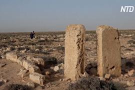 Древние руины в Ливии разрушаются под действием ветра, солнца и воды