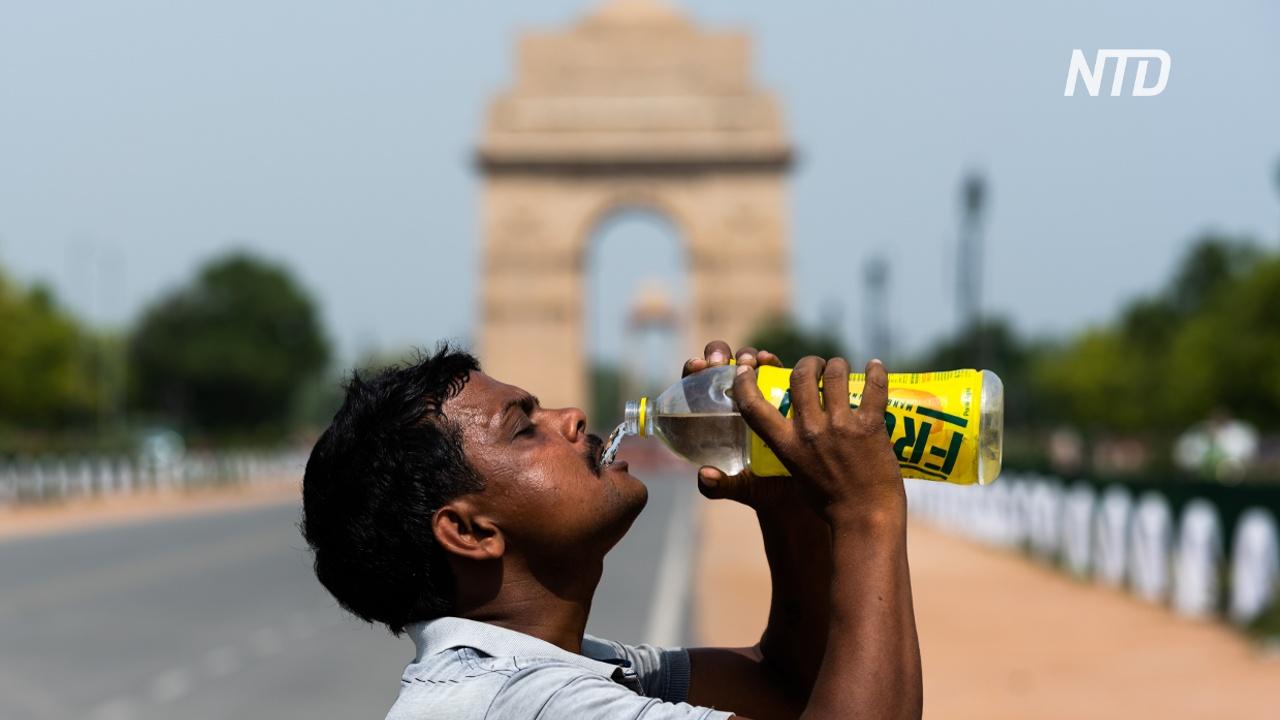 Жара в Индии: в некоторых регионах – больше +50 С