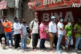 В Нью-Дели ввели «коронавирусный» 70-процентный налог на алкоголь