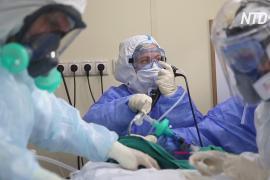 Россия поднялась на четвёртое место в мире по заболеваемости коронавирусом
