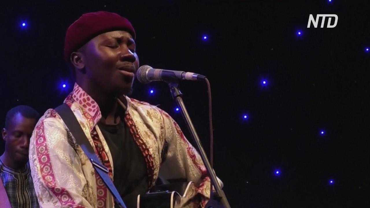 Музыканты Буркина-Фасо выступают онлайн в реальном времени