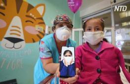 Видеосвязь с родителями помогает выздоравливать пациентам детской больницы