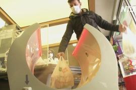В турецких магазинах появились аппараты для дезинфекции покупок