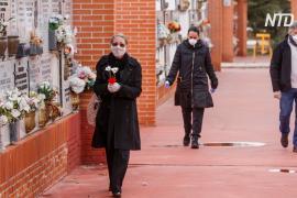 В Испании объявили 10-дневный траур по жертвам коронавируса