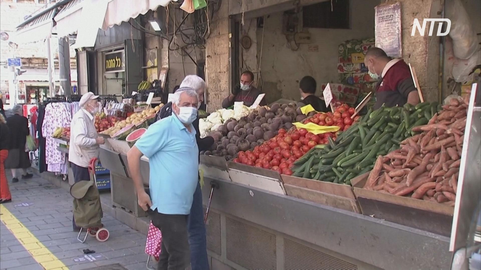 В Израиле вновь открылись торговые центры и рынки
