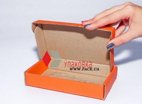 Коробка картонная 165 х 100 х 30 мм, самосборная