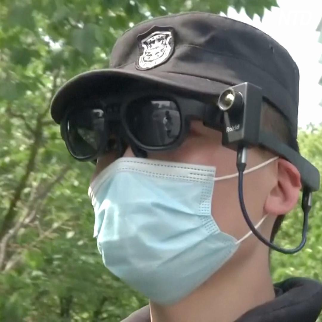 Китайские «умные» очки дистанционно измеряют температуру