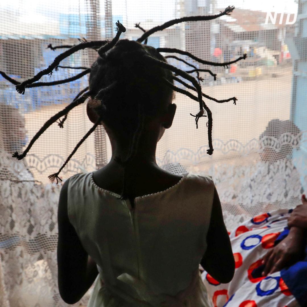 Причёска-коронавирус – новый хит в Кении