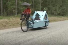 Велосипедо-лодко-дом: транспорт, который ездит и по суше, и по воде