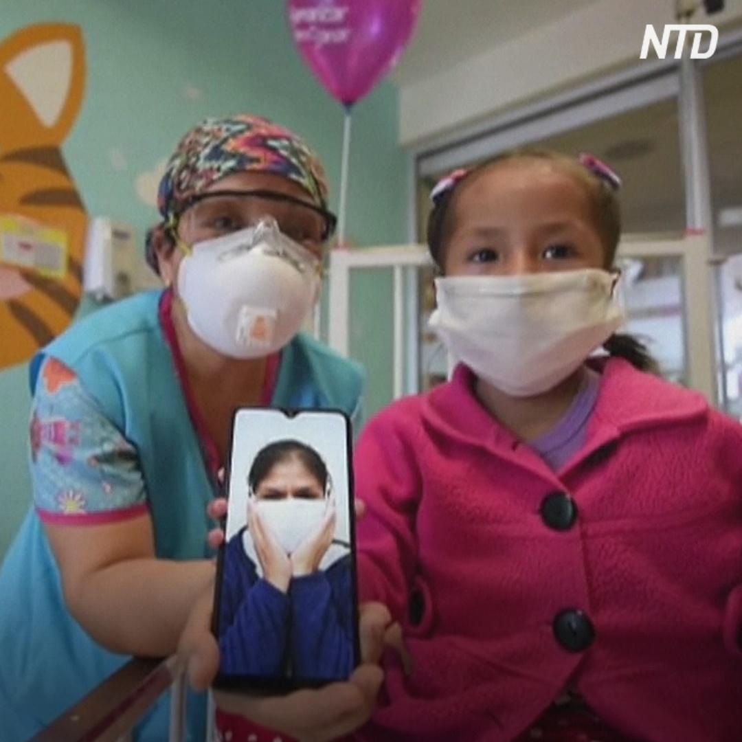 «Мама, я тебя люблю»: звонки по видеосвязи помогают детям выздоравливать