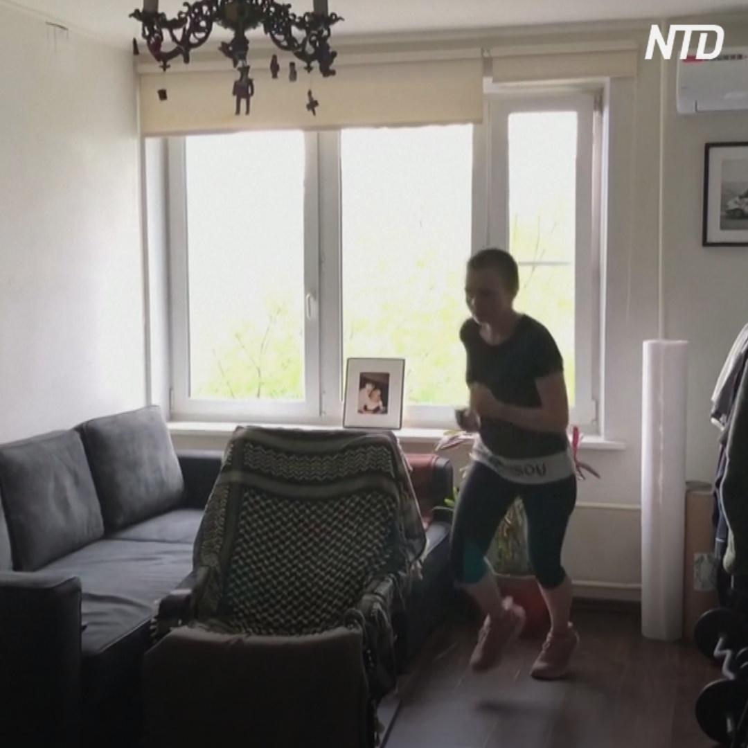Москвичка каждый день набегает по квартире по 10 км