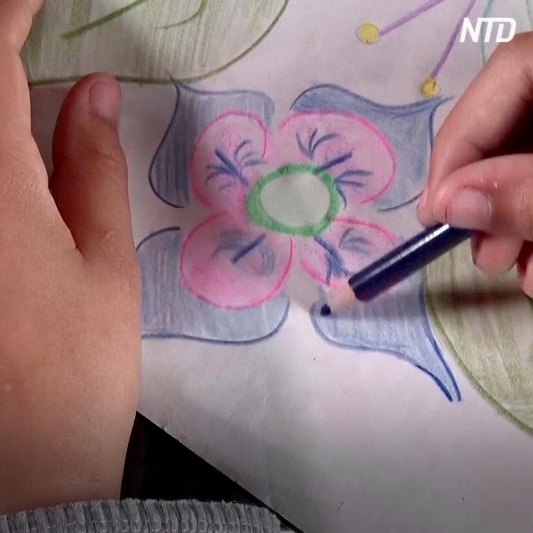 8-летняя девочка продаёт свои рисунки, чтобы купить компьютер и учиться онлайн