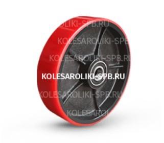 Рулевые колеса для гидравлических тележек полиуретановые