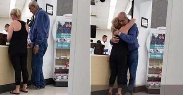 Трогательная сцена в аптеке вдохновляет пользователей сети