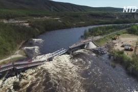 РЖД отменили поезда в Мурманск из-за рухнувшего моста