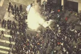 В десятках американских городов продолжаются протесты